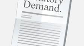 Statutory Demand