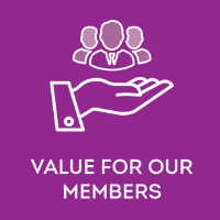 value for our members